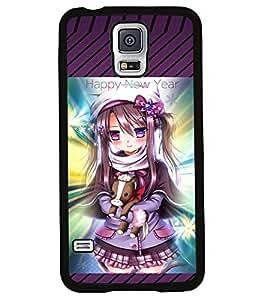 Printvisa 2D Printed Girly Designer back case cover for Samsung S5 Mini - D4163