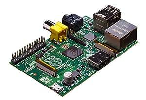 Raspberry Pi RBCA000 Carte Mère ARM 1176JZF-S 512 Mo RAM HDMI  2x USB 2.0 3,5 Watt