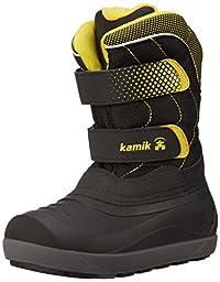 Kamik Snowchase Snow Boot (Toddler/Little Kid/Big Kid), Black, 13 M US Little Kid