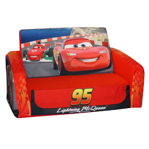 More image Marshmallow Fun Furniture Flip Open Sofa: Cars Theme