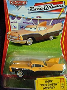 "Disney Pixar World of Cars Hank ""Halloween"" Murphy 1:55 Scale"