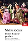 Peines d'amour perdues par Shakespeare