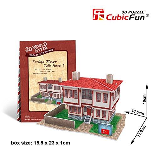 CubicFun 3D Puzzle World Style-Series ''Turkiye Flavor - Folk House 1''