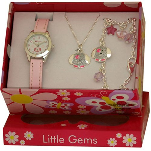 Ravel Kids Little Gemz Children's Jewellery Set Watch R2218