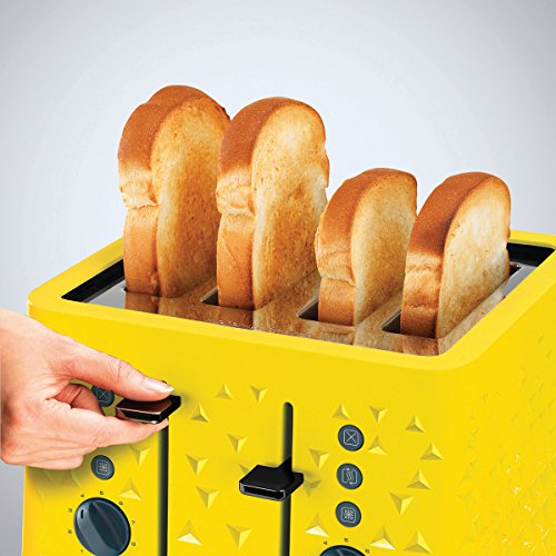 Morphy Richards 248108 Prism Toaster Yellow