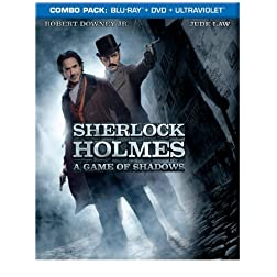 Sherlock Holmes: A Game of Shadows (Blu-ray/DVD Combo + UltraViolet Digital Copy)