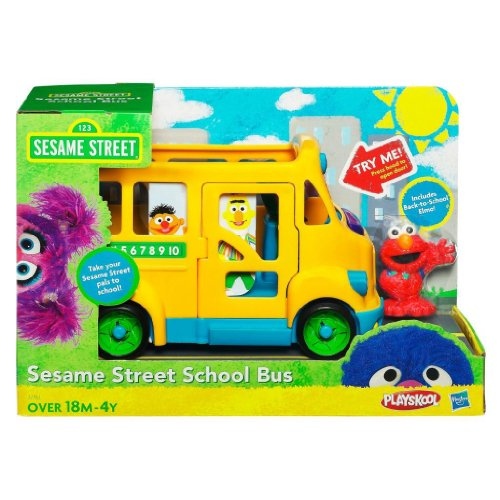 Toy / Game Playskool Sesame Street School Bus