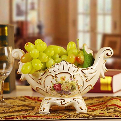 Nova Forza European Fashion - decorazione della casa di stile di ceramica vasi di frutta caramelle scatole cesti di cuore - vassoio dimensione Decoration
