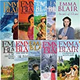 Emma Blair Emma Blair Bestsellers Collection 10 - Books (Flower of Scotland, Scarlet Ribbons, A Most Determined Woman, The Princess of Poor Street, Goodnight Sweet Prince, Forget-Me-Not, Arrows of Desire, This Sid of Heaven, Where no Man Cries, Hester Da