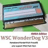 GAMEBANK-web.comオリジナル「ワンダースワン ダンパー用フラッシュカートリッジ / WSC Dog V3 4Mbit Edtion(WonderWitch/4Mbit Flash ROM/2048kbit SRAM/RTC)」 / ワンダースワン カラー WonderSwan Color DUMPER レトロゲーム 吸い出しツール [0958]
