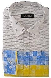 Edinwolf Men's Formal Shirt (EDFR713_42, Multi-Coloured, 42)