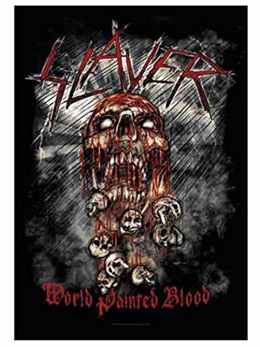 Bandiera World Painted Blood Assassino Poster