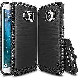 Samsung Galaxy S7 Edge RINGKE ONYX Series by Rearth (Black)