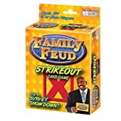 Family Feud Strikeout Card Game by Endless Games
