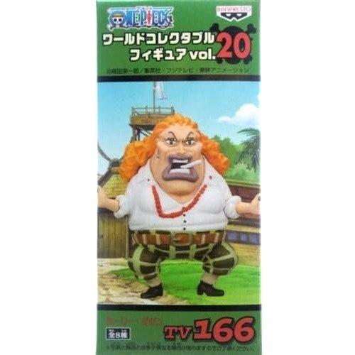 ONE PIECE ワンピース ワールドコレクタブルフィギュア vol.20 カーリー・ダダン