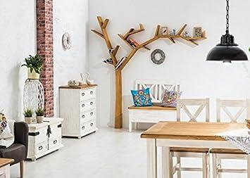 Etagère bibliothèque murale en bois TREEA en forme d'arbre moderne et original