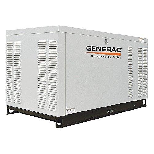 Generac Qt02724Gnax 27 Kw Liquid-Cooled Automatic Standby Generator, 1,800 Rpm, 120/208V, 3-Phase