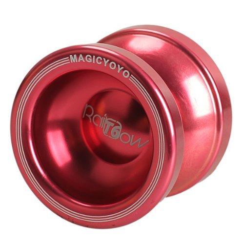 MAGICYOYO T6 Rainbow String Trick Aluminum (Red) - 1