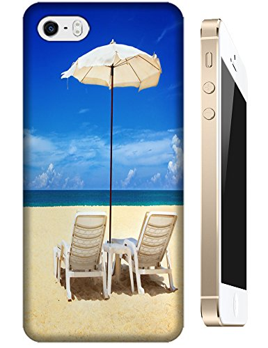 Cell Phone Case Beach Design Beautiful Sunshine Water Trees For Iphone 5/5S No.6 front-738488
