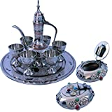 UFC Mart Antique Wine Set And Get Gemstone Ash Tray Free