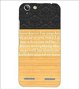 PrintDhaba Quote D-3297 Back Case Cover for LENOVO LEMON 3 (Multi-Coloured)