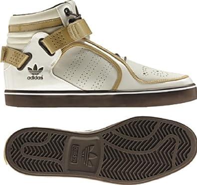adidas Originals Men's adi-Rise Mid Sneaker Chalk/Tanblend/Greyblend (14)