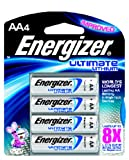Energizer Ultimate L91BP-4 Lithium AA Battery 4 Pack