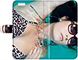 Lovers Gifts Christmas Gifts For Leather Phone Leather Case Cover women asians armpits swimming pools hairy armpits iPhone 7 Plus