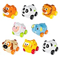 Cartoon Animals Friction Push and Go…