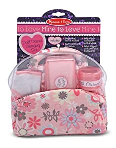 Doll Nappy Bag Set