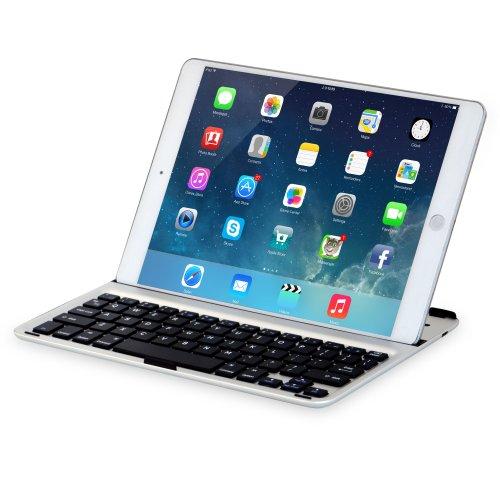 Sharon シャロン Apple iPad Air2, iPad Air ウルトラスリム キーボードカバー ケースwith Bluetooth キーボード | アルミニウム |キーボード (英語レイアウト, QWERTY) | スマートカバー機能