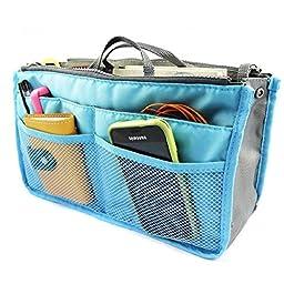 Krismile® Makeup Insert Handbag Organiser Insert Organizer Tidy Travel Cosmetic Pocket