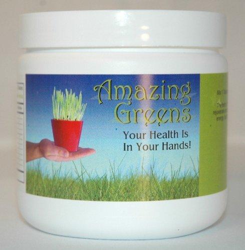 Amazing Greens (Super High Energy & Nutrients) 7.5 Oz Powder