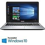 "2016 Newest Asus Flagship Premium Laptop, 15.6"" HD Display, Intel Core i3-5020U 2.2GHz Processor, 4GB DDR3, 1TB HDD, DVD, HDMI, Webcam, Windows 10"