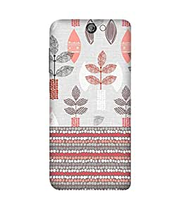 Floral Pattern HTC One A9 Case