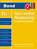 Cover of Bond Non-verbal Reasoning Papers 10-11+ years Book 1 by Alison Primrose 0748781234