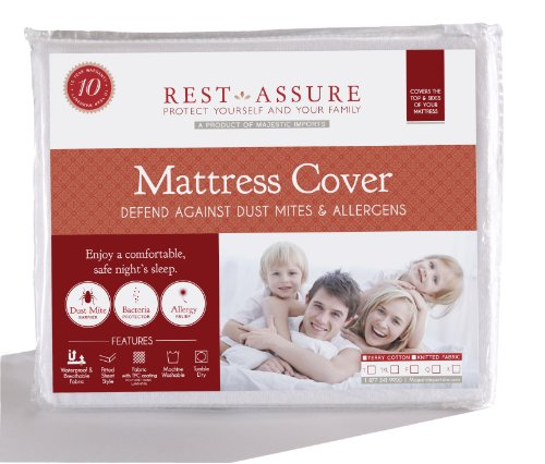 Read About King Size Instyle Furnishing Premium 100% Waterproof Mattress Protector, Hypoallergenic, ...