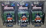 DENVER BRONCOS - Superbowl XLVIII Special 3-Figure Pack (Quarterback, Running Back, Wide Reciever) at Amazon.com