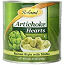 Roland Roman Style Artichoke Hearts with Stalks, 5-Pound, 1-Ounce Can