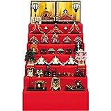 雛人形 吉徳 七段飾り 十五人飾り 京八番親王