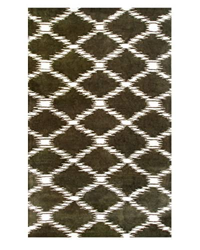 The Rug Market Scale Rug, Brown, 10′ x 13′