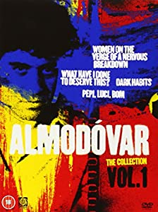 Almodvar: The Collection, Vol. 1 (Women on the Verge of a Nervous Breakdown / What Have I Done to Deserve This? / Dark Habits / Pepi, Luci, Bom) [Region 2]