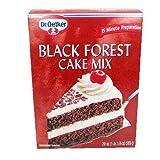 Oetker Black Forest Cake Mix 19.7 oz - 4 Unit Pack