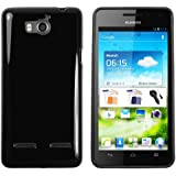 mumbi TPU Schutzhülle Huawei Ascend G615 G600 Hülle schwarz
