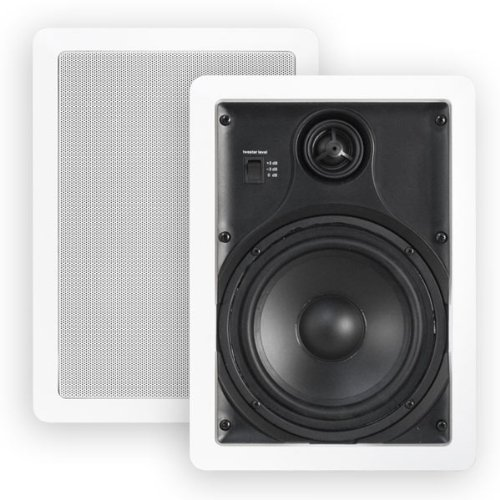 "Htd Mp-W65 Multi Purpose 6 1/2"" In-Wall Speakers (Pair)"