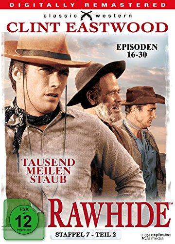 Rawhide - Tausend Meilen Staub - Season 7.2 [4 DVDs]