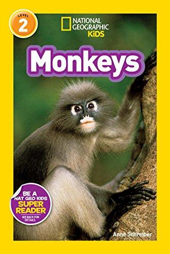 Monkeys (National Geographic Kids Super Readers: Level 2)