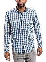 Timezone Camisa Hombre (Azul)