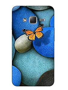 Make My Print Abstract Printed Colorful Hard Back Cover For Samsung Z1