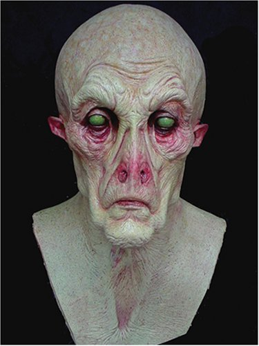 Creepy Space Alien Latex Adult Mask